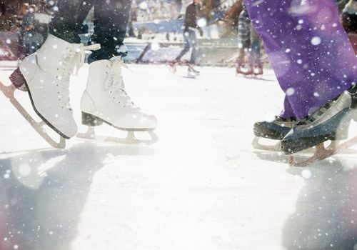 Outdoor Synthetic Skating Rink at JCC of Youngstown