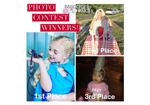 Halloween Photo Contest Winners Collage