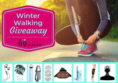 Winter Walking Giveaway