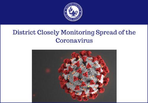 MCSD Monitoring Coronavirus