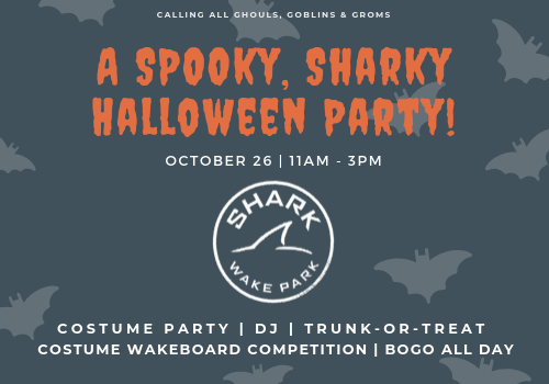 Shark Wake Park Halloween Party