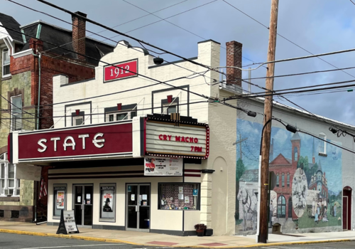 movie theater, live theater, historic