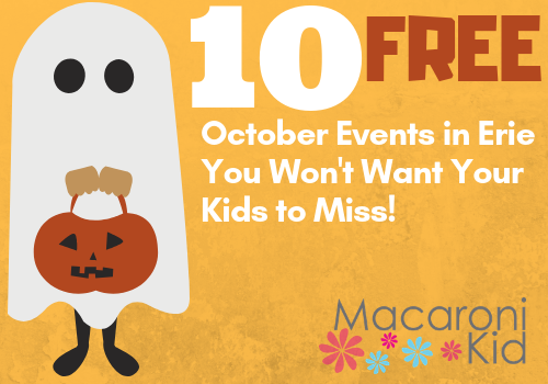 10 free october events in erie PA