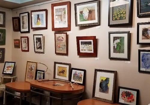 art gallery art show opening Linda Scharck smARTivities Showcase Easton PA June 8, 2019