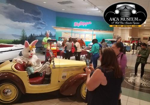 AACA Museum, Inc Hershey pa egg hunt easter bunny dauphin county family fun activities