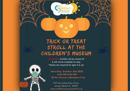2020 Trick or Treat Stroll at the Children's Museum