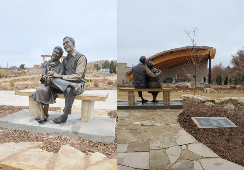 Bob & Joyce Everitt Sculpture
