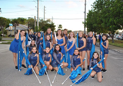 Hidden Oaks Middle School Color Guard