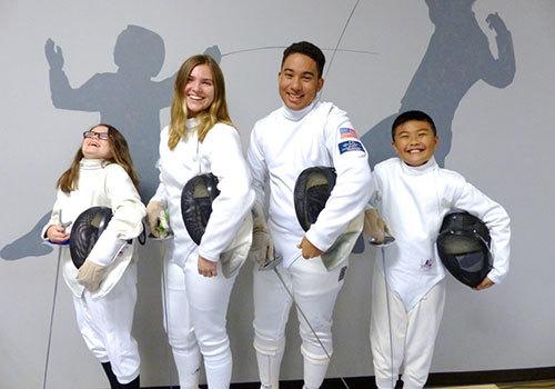 Treasure Coast Fencing Club Students