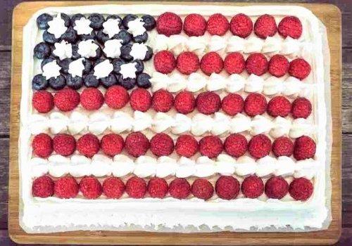 Flag Cake Recipe