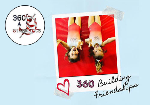 360 Gymnastics Building Friendships