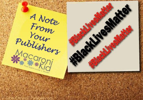 A Note From Your Publishers