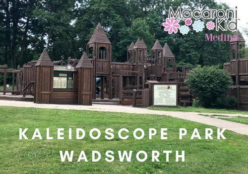 kaleidoscope park wadsworth medina ohio castle playground
