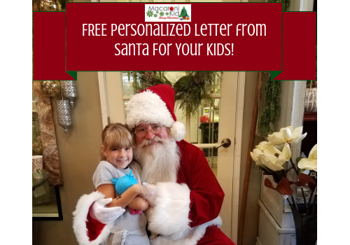 Free Personalized Letter From Santa For Your Kids