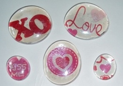 Valentine Magnet craft for kids