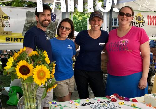 Easton PA Farmer's Market oldest America 267 years free cake July 13