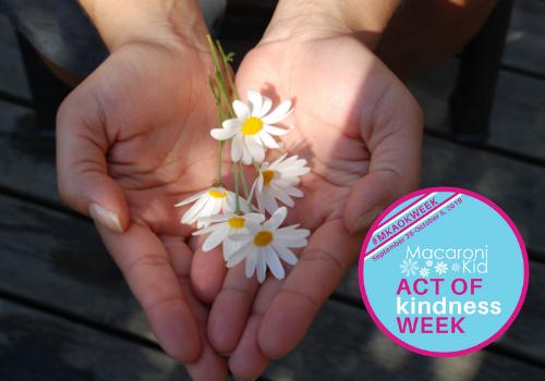 Macaroni Kid Act of Kindness week