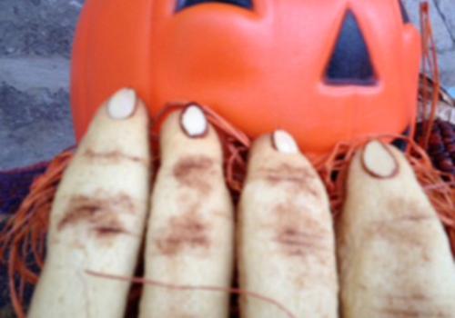 Creepy Finger Cookies