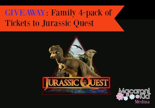 GIVEAWAY! Jurassic Quest at the IX Center September 16 & 17