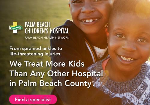 Palm Beach Children's Hospital Kids