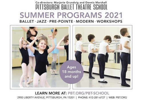 Pittsburgh Ballet Theatre Summer Programs