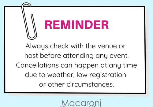 Event Cancellation Reminder