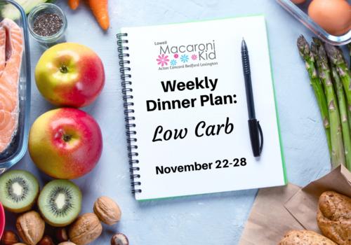 Meal Plan Nov 22-28