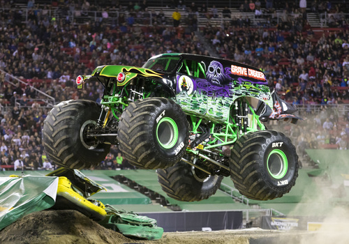 Gravedigger for Monster Jam