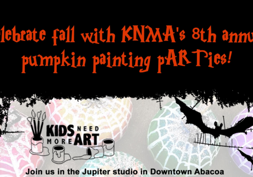 Kids Need More Art 8th Annual Pumpkin Painting Party 2019