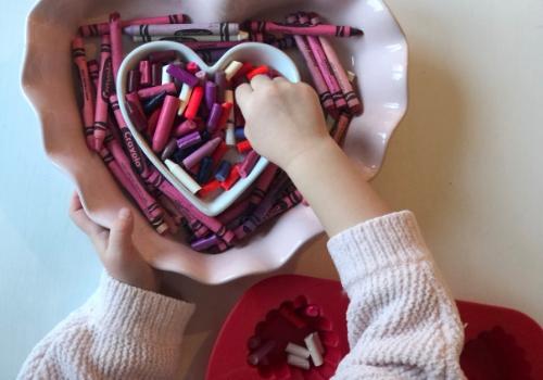 Valentine Crayons