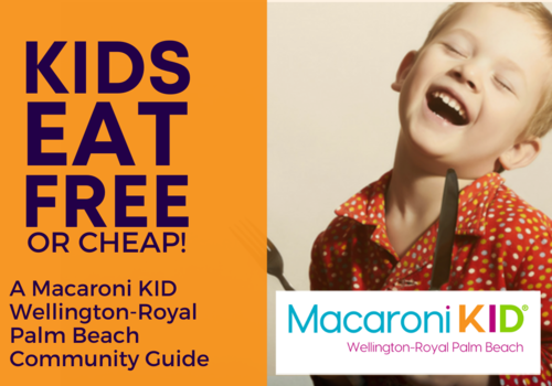 Kids Eat Free or Cheap in Wellington and Royal Palm Beach!