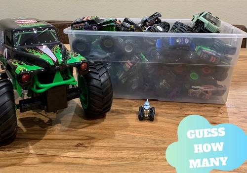 Guess How Many Monster Trucks