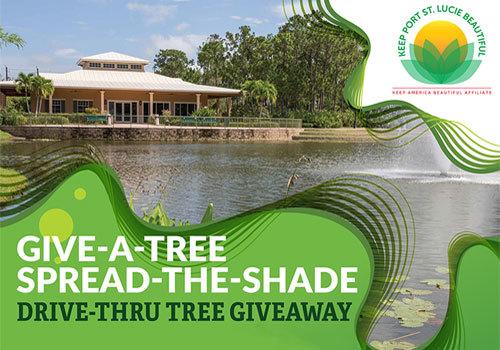 Keep Port St. Lucie Beautiful Drive Thru Tree Giveaway 9/12/20