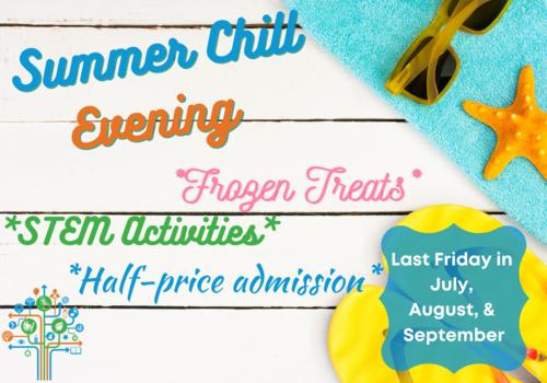 LCM Summer Chill Evening, Frozen Treats, STEM, Half-price, Family Fun, Lewisburg Children's Muesum