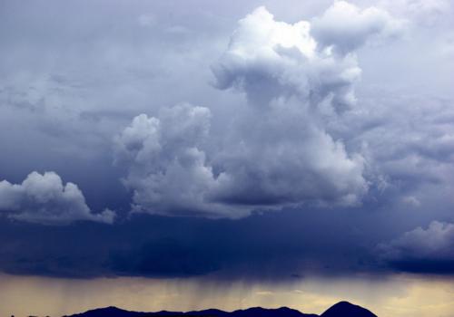 Stormy Sky Over Sleeping Ute