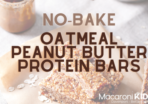 no bake oatmeal peanut butter protein bars