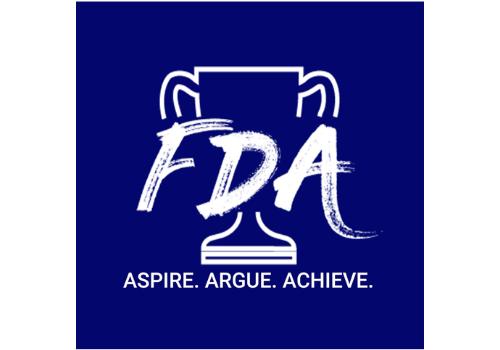 Fremont Debate Academy Logo Summer Camp