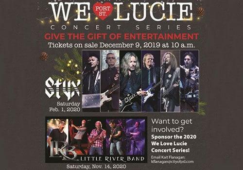 We Love Port St. Lucie Concert Series