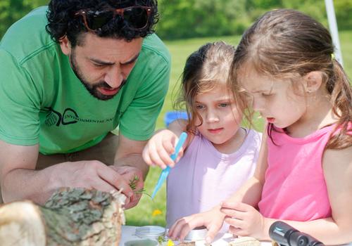 Kids exploring with Eco Edventures