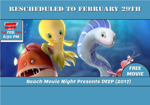 Martin County Parks and Rec Beach Movie Night 2/29/20