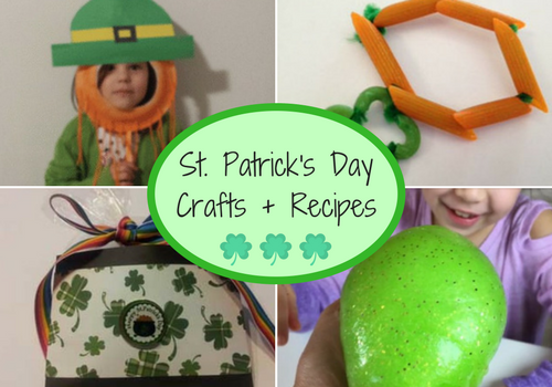 St. Patrick's Day Crafts + Recipes