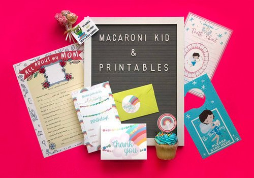 Macaroni Kid Printables