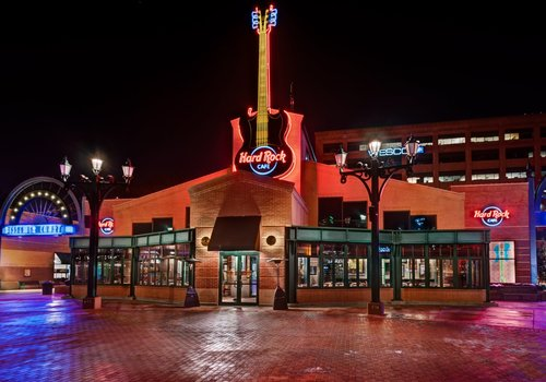 Hard Rock Cafe in Pittsburgh is located in Station Square in the South Side of Pittsburgh