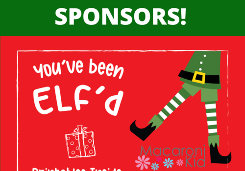 Looking for Sponsors You've Been Elf'd Promotion
