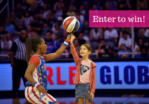 Enter to win tickest to the Harlem Globetrotters on Feb 19 2020 in Lowell MA