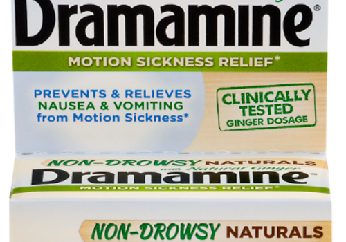 Review of Dramamine Non-Drowsy Naturals