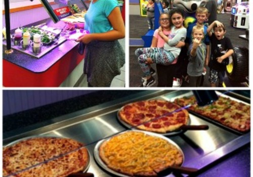 Amazing Chuck E Cheeses New 5 99 All You Can Eat Lunch Buffet Review Home Interior And Landscaping Fragforummapetitesourisinfo