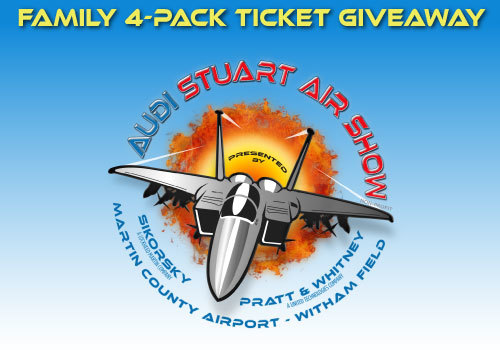 Air show invitation code giveaways
