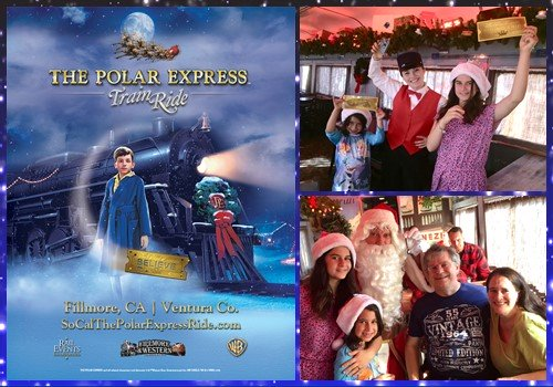 Polar Expresss Train Ride