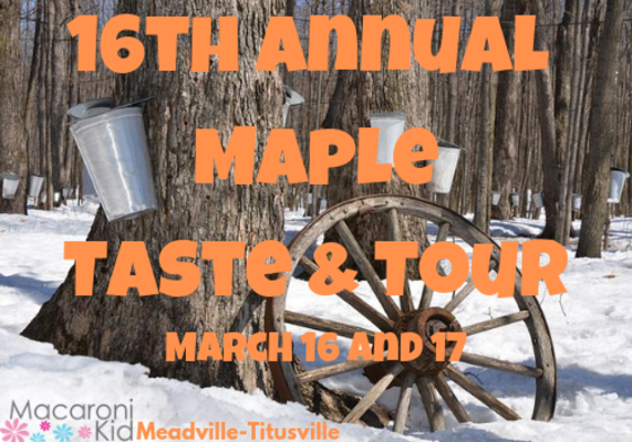 2019 Maple Taste Tour In Crawford Erie Warren And Vengano County